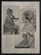 Moira Faith Lilian de Yarburgh-Bateson Patrick Chichester 1928 Photo Article