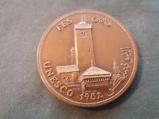 ancienne médaille - jeton en bronze unesco 1982