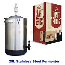 Mangrove Jack's Stainless Steel 25L Fermenter Craft Series Home Brew