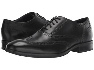 Cole Haan Mens Wayne Wingtip Lace Up Business Casual Oxfords Dress Shoes