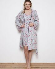 CYBERJAMMIES PINK FLORAL SHORT DRESSING GOWN SIZE 10 BNWT