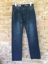 Hilfiger Boy's Youth Size 12 Blue Jeans Dark Wash Slim