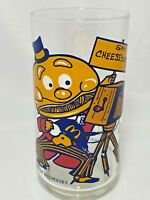 McDonalds Mayor McCheese Say Cheeseburger 1977 Action Series Glass Color Vintage