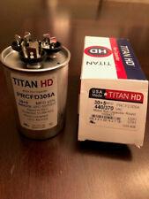 Titan Hd Prcfd305A Heavy Duty Motor Run Capacitor, 30+5 Mfd, 440/370Vac 60/50Hz