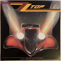 ZZ TOP ELIMINATOR LP WARNER BROS 1983 USA PRESSING PRO CLEANED