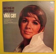 VIKKI CARR Don't Break My Pretty Balloon Vintage Vinyl LP Record Album Liberty
