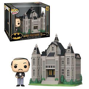 Batman Alfred Pennyworth With Wayne Manor Funko Pop Town Vinyl DAMAGED OUTER BOX