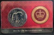 2011 FIFTY CENT - *ROYAL WEDDING OF WILLIAM AND KATE* - CARDED - UNCIRCULATED