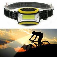 4 Modes COB LED Headlamp Headlight Head Lamp Light Torch Flashlight Portable AAA
