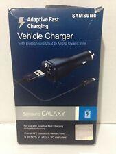 SAMSUNG Original Adaptive Fast Charging Vehicle USB Charger Black EPLN915UBESTA