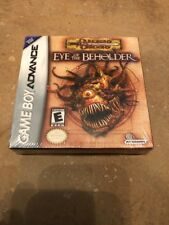 NEW Dungeons & Dragons Eye of the Beholder Nintendo Game Boy Advance GBA Sealed