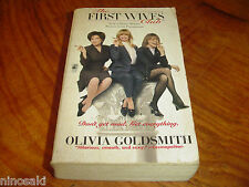 OLIVIA GOLDSMITH - THE FIRST WIVES CLUB - THE SWITCH - LOT OF 2 MMPB - USED