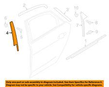 AUDI OEM 11-17 A8 Quattro Exterior-Rear-Front Trim Left 4H0839901B5FQ