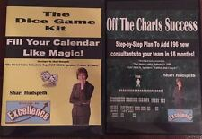 Shari Hudspeth The Dice Game Kit & Off the Charts Success Cds Direct Selling