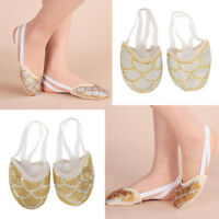 Women Dance Shoes Half Sole Ballet Practice Pads Toe Pads Jazz Shoes Stretch