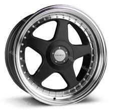 "17"" Black DR-F5 Alloy Wheels Fits Opel Adam Aqila Astra Corsa Nova 4 stud 4x100"