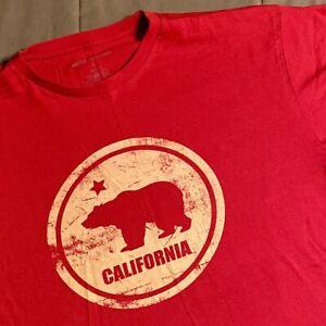 California Bear T-shirt Size L