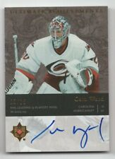 Cam WARD Upper Deck Ultimate Collection 2006/07 Ultimate Achievements 9/15 auto