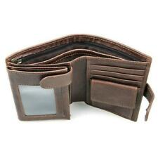 Leather Men's Wallet Retro Purse Large Capacity Multi-Card Short Clutch Rfid New