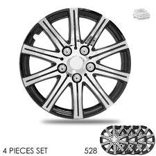 New 15 inch Hubcaps Wheel Covers Full Lug Skin Hub Cap Set 528 For VW