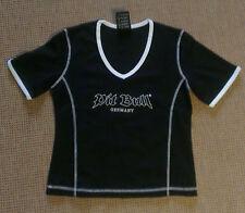 Pit Bull Germany kurzes Shirt schwarz Pit Bull-Logo + weiße Nähte Gr. XL Neu