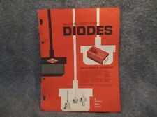 Silicon Rectifier Diodes Pamphlet Guide Product List Sheet 1963 Copyright