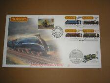 2003 GB HORNBY TRAINS MAKING MODELS REAL BUCKINGHAM LTD ED. COVER STAMPEX & TPO