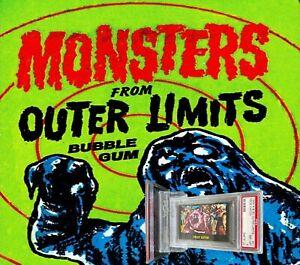 1964 A&BC Outer Limits PRIZE CATCH #21 NM-MINT 8 - Vintage garno PSA