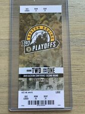 2019 NHL Playoffs Boston Bruins vs Columbus Blue Jackets Game 2 Ticket Stub 4/27