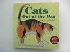 "Cat Book ""Cat's Out of the Bag"" 401 Tidbits for Cat Lovers New"
