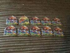 Joblot of 10 dinosaur pinball party bag toys