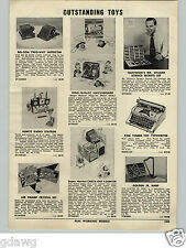 1955 PAPER AD Remco Toy Radio Station TV Mr. Wizard Science Set