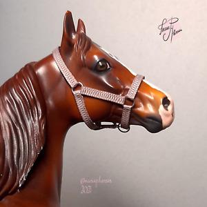 Custom Halter model horse tack accessories for ISH Peter Stone Breyer resin 3