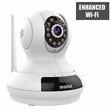 [UPGRADED] MAISI HD 1MP Wireless Security IP Camera with 3dB ENHANCED WiFi, Pet