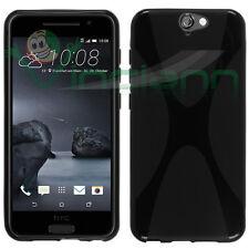 Pellicola+Custodia protettiva X-Style NERA per HTC One A9 cover case flessibile
