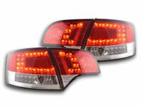 FK-Automotive LED Rückleuchten Set Audi A4 Avant Typ 8E Bj. 04-08 rot/klar