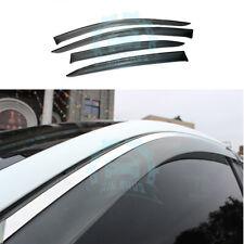 4P Window Visors/Deflector Rain Guard Vent For Scion iA 16/Toyota Yaris 2017-19