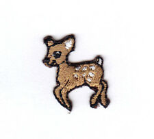 DEER BABY TINY Forest Animal Fawn Iron On Patch Applique