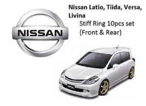 STIFF RING SUBFRAME RIGID COLLAR Nissan Tiida / Versa / Latio Front&Rear - 10pcs