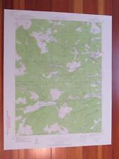 Nederland Colorado 1959 Original Vintage USGS Topo Map