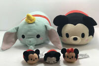 Disney Tsum Tsum mini & medium Mickey dumbo Minnie Mouse plush