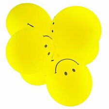 """Pack of 10 - 12"""" - Latex Smiley Balloons Birthday Party Kids Wedding Decoration"""