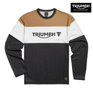 MAGLIA A MANICHE LUNGHE ORIGINALE TRIUMPH ADVENTURE CENTER MTLS21031