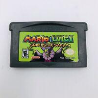 Mario & Luigi: Superstar Saga (Game Boy Advance, 2003) Original Authentic
