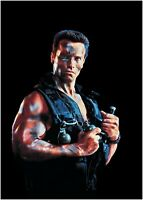 Commando Arnold Schwarzenegger Movie Large Poster Art Print Maxi A1 A2 A3 A4