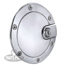 NEW Polished Locking Gas Fuel Door / FOR FORD F150 2004-2008
