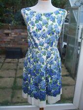 Gorgeous Floral Print Summer Dress- OASIS- Size 16