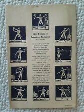 The Society of American Magicians Parent Assembly, Banquet Program May 24 1935