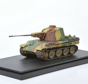 1/72 WWII War 341 Zwilling Flakpanzer Western Front Armor Tank Model Collect Toy