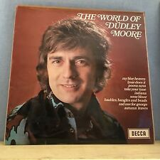 DUDLEY MOORE The World Of Dudley Moore 1970 UK Vinyl LP EXCELLENT CONDITION